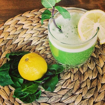 batido verde 0 azucar