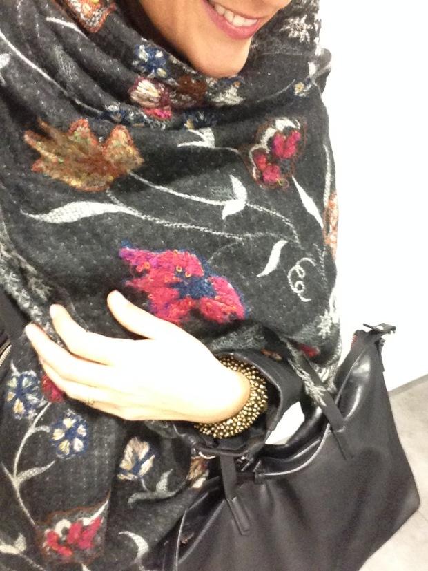 manta y bolso